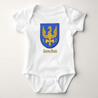 Sanchez Family Shield Baby Bodysuit