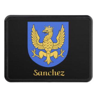 Sanchez Family Shield Tow Hitch Cover