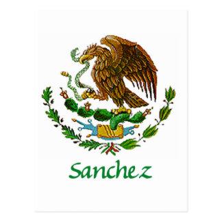Sanchez Mexican National Seal Postcard