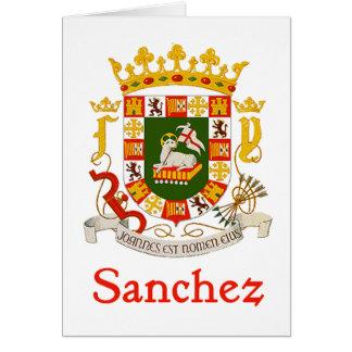 Sanchez Shield of Puerto Rico Card