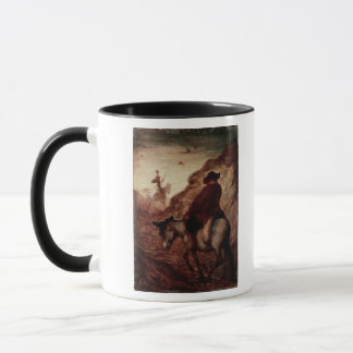 Sancho and Don Quixote, 19th century Mug