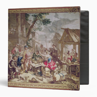 Sancho Panza and the Nut Seller 3 Ring Binders