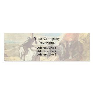 Sancho Panza Don Quijote de Honore Daumier Plantillas De Tarjetas Personales