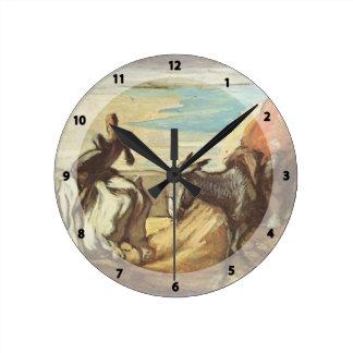 Sancho Panza,Don Quixote by Honore Daumier Clocks