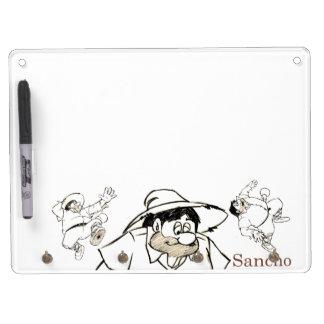 Sancho Panza - Don Quixote's best friend Dry Erase Board With Keychain Holder