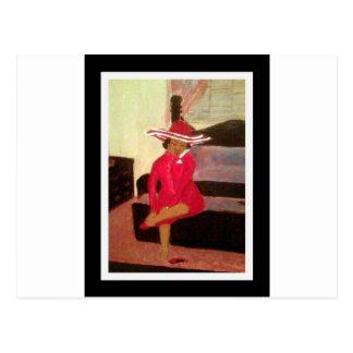 Sanctified Lady Postcard