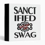 Sanctified Swag 3 Ring Binders