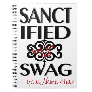 Sanctified Swag Notebook