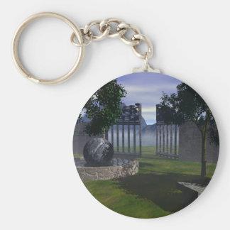 Sanctuaire de Paix Key Chain