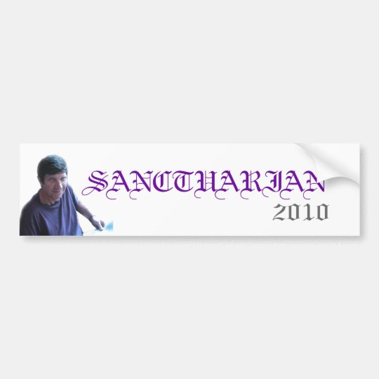 SANCTUARIAN, 2010 GHS BUMPER STICKER