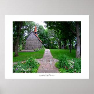 Sanctuary little church grasshopper chapel photo poster