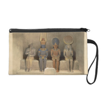 """Sanctuary of the Temple of Abu Simbel, from """"Egypt Wristlet Clutch"""