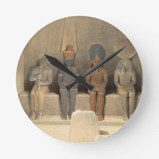 """Sanctuary of the Temple of Abu Simbel, from """"Egypt Round Clock"""