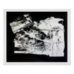 """Sanctum"" Limited Edition Black/White Print Poster"