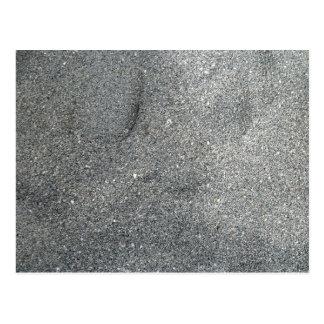 Sand Abstract Themed Design Merchandise Postcard
