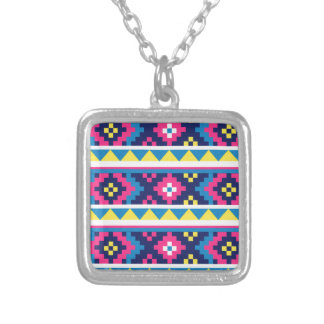 sand_and_beach AZTEC PATTERN BRIGHT COLORFUL SUMME Custom Jewelry
