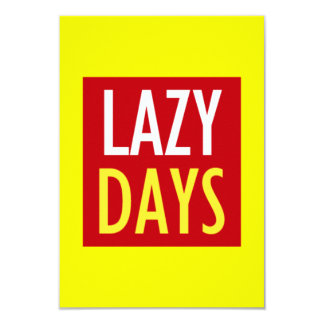 sand-and-beach_label_lazy-days LAZY DAYS BEACH SAN Personalized Announcements