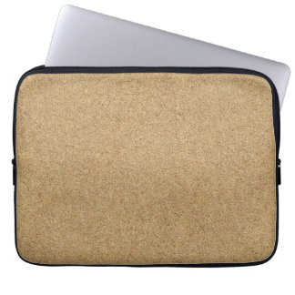 sand-and-beach_paper_sand BEACH SAND BROWN TAN  PA Laptop Sleeves