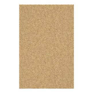 sand-and-beach_paper_sand BEACH SAND BROWN TAN  PA Custom Stationery