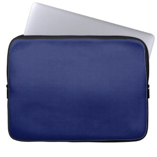 SAND AND BEACH SOLID DARK NAVY BLUE BACKGROUND WAL LAPTOP COMPUTER SLEEVE