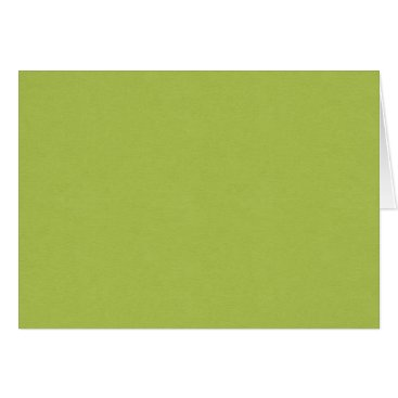 Beach Themed SAND AND BEACH SOLID LOVELY LIME GREEN BACKGROUND CARD