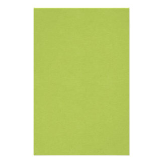 SAND AND BEACH SOLID LOVELY LIME GREEN BACKGROUND STATIONERY PAPER