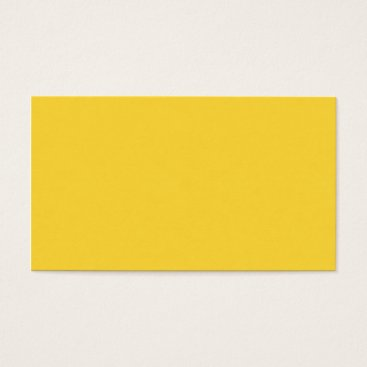 Beach Themed SAND AND BEACH SOLID MEDIUM CHICKIE YELLOW  BACKGR BUSINESS CARD
