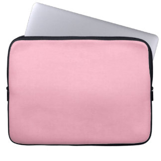 SAND AND BEACH SOLID PRECIOUS PINK BACKGROUND WALL LAPTOP COMPUTER SLEEVE