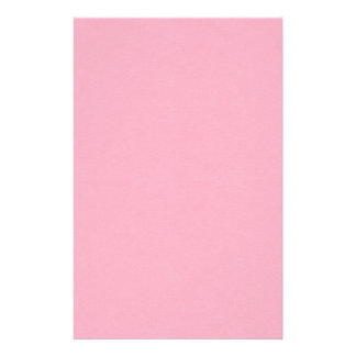 SAND AND BEACH SOLID PRECIOUS PINK BACKGROUND WALL CUSTOM STATIONERY