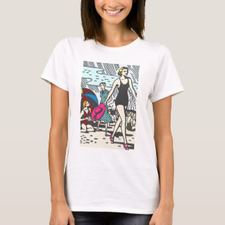 sand-and-beach_vintage-image VINTAGE FASHION STYLE T-Shirt
