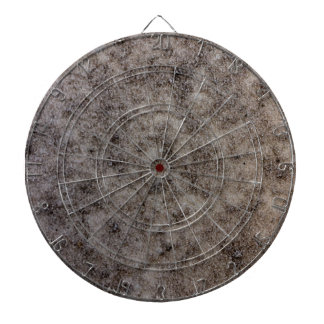 Sand and Marble -- Sand blasted marble stone Dart Board