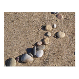 Sand and Pebbles Postcard