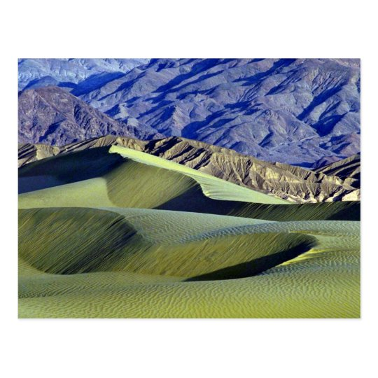 Sand and rock patterns postcard