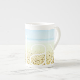 SAND AND SEA 'Relax' Serene Summer Seascape Tea Cup