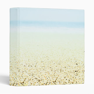 SAND AND SEA Serene Summer Seascape 3 Ring Binder
