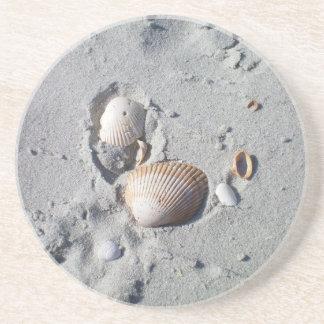 Sand and Seashells Coaster