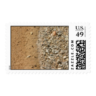 Sand and stones stamp