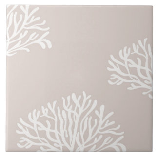 Sand and White Coral Tile