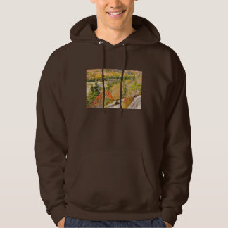 Sand Beach from Great Head, Acadia National Park Hoodie