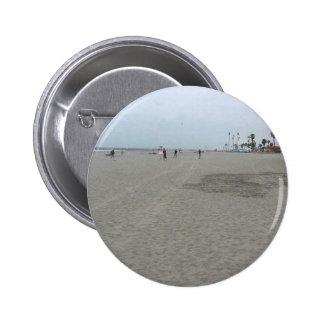Sand Beach Ocean Button
