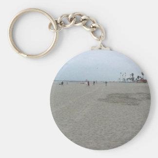Sand Beach Ocean Key Chain