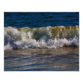 Sand Beach Waves Photo Print