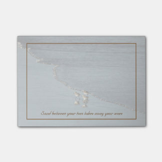 Sand Between Your Toes Beach Quote Custom Post-it® Notes