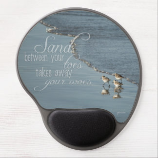 Sand Between Your Toes Beach Quote Gel Mouse Pad