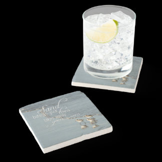 Sand Between Your Toes Beach Quote Stone Coaster