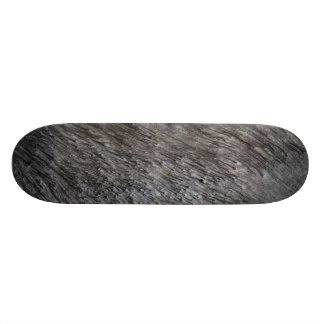 Sand Blast Metalic Skateboard