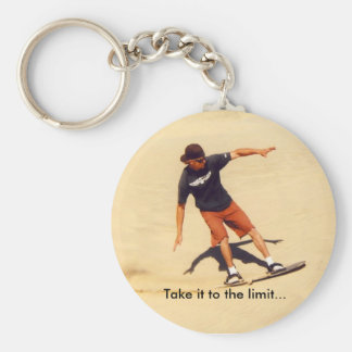 Sand Boarder Keychain