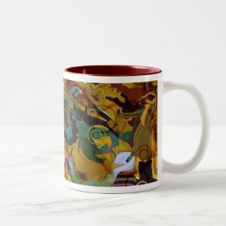 Sand Box - Abstract Mugs