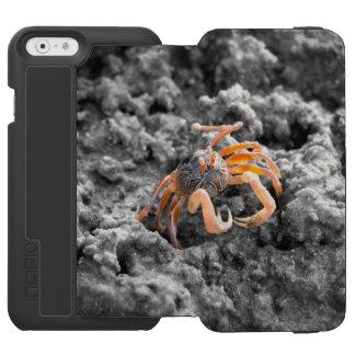 Sand bubbler crab iPhone 6/6s wallet case