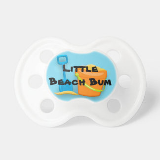 Sand Bucket and Shove Little Beach Bum Pacifier